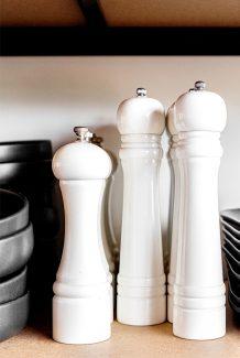 Carrick Hill Café salt and pepper grinders