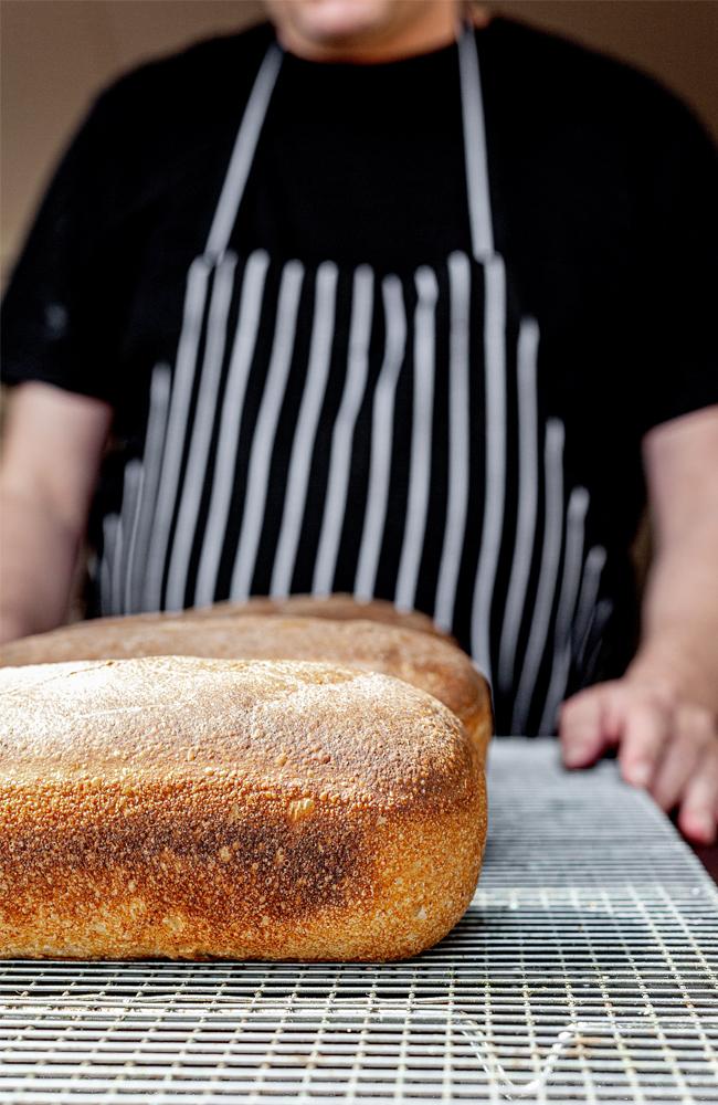 Carrick Hill Café freshly baked bread loaves