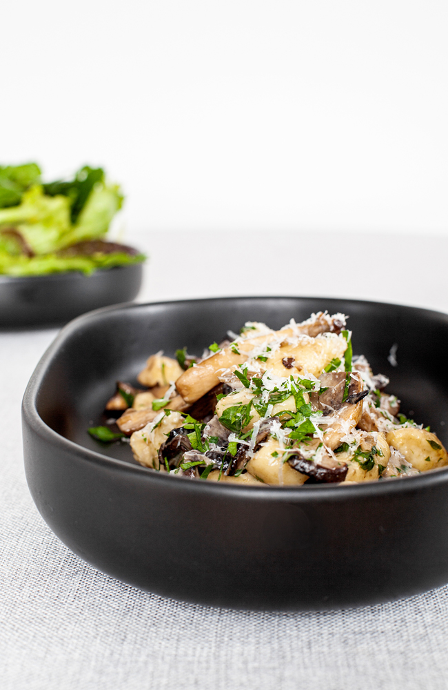 Tabel Catering Gnocchi with mushroom ragu